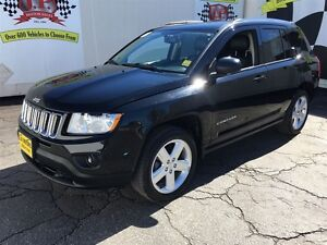 2013 Jeep Compass Limited, Automatic, Leather, Heated Seats,