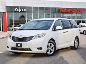 2016 Toyota Sienna 7-Pass V6 6A 7 Passenger Seating*Bluetooth*Al