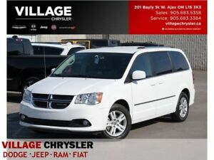 2017 Dodge Grand Caravan Crew Plus|Leather|Nav|DVD|Bluetooth|Pwr