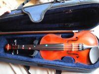 Primavera 1/2 size Violin - very good condition