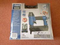 Scheppach 5 Piece Air Nail / Staple Gun Kit - Requires Air Compressor - *Brand New & Factory Sealed*