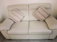 3 piece suite in Smoke premier leather. Excellent condition - must be seen.