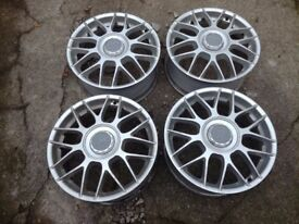 Audi,Vw, Seat, Skoda, BBS rc 326 genuine wheels 17""