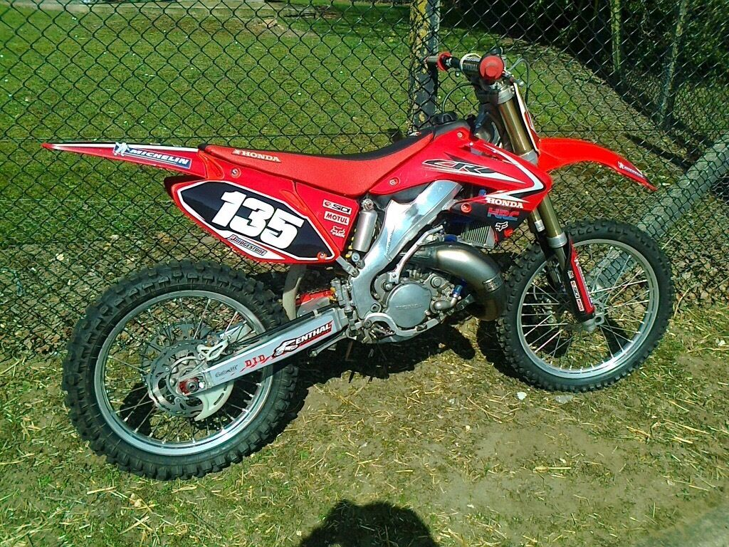honda cr 125 2007 cr125 not kx rm yz ktm in thetford. Black Bedroom Furniture Sets. Home Design Ideas