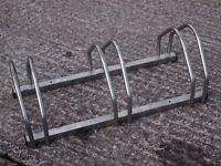 Stainless Steel BICYCLE CYCLE FLOOR WALL MOUNT RACK STAND for 3x Bikes