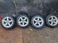 15 inch Multifit wheels 4x100 4x108