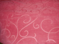 Red Curtain Fabric - Never Used