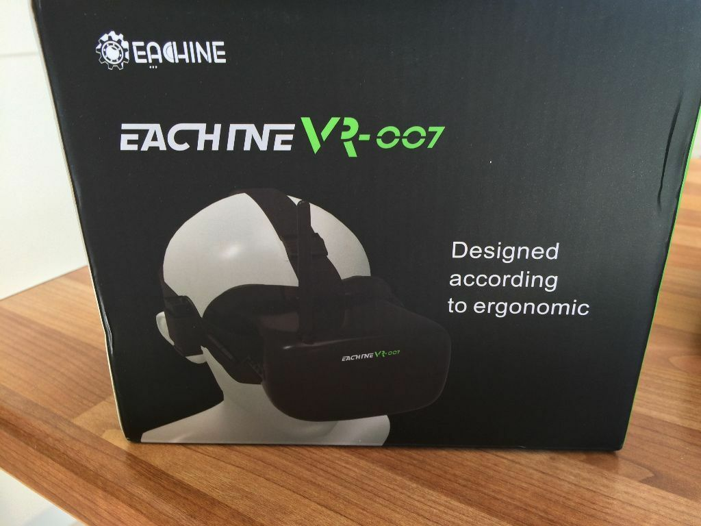 ed54e3189fe7 Eachine VR-007 VR007 5.8G 40CH HD FPV Goggles Video Glasses 4.3 Inch With  7.4V 1600mAh Battery