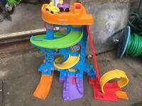 Fisher Price Little People Loops and Swoops Amusement Park