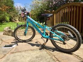 "Junior girls mountain bike 20"" wheels. As new. Southport."