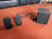 Logik 2:1 Stereo Speakers, USB powered