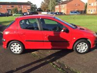 PEUGEOT 206, 2004 PLATE, 2L DIESEL, CAMBELT CHANGED! MOT, DRIVES AMAZING