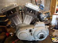 Harley Davidson Sportster tuned engine