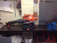 flymo 3000w leaf blower/vac £30