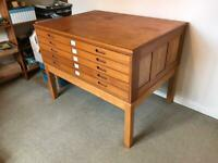 Vintage plan chest possible delivery
