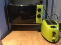 Microwave toaster and kettle