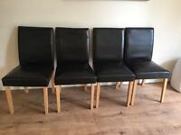 Dining chairs (Poole bh15)