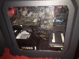 GAMGING PC (GTX 1050TI, INTEL 15-6500, 12GB RAM, 120GB SSD) ono