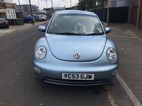 VW Beetle diesel low mileage 73k only £1350