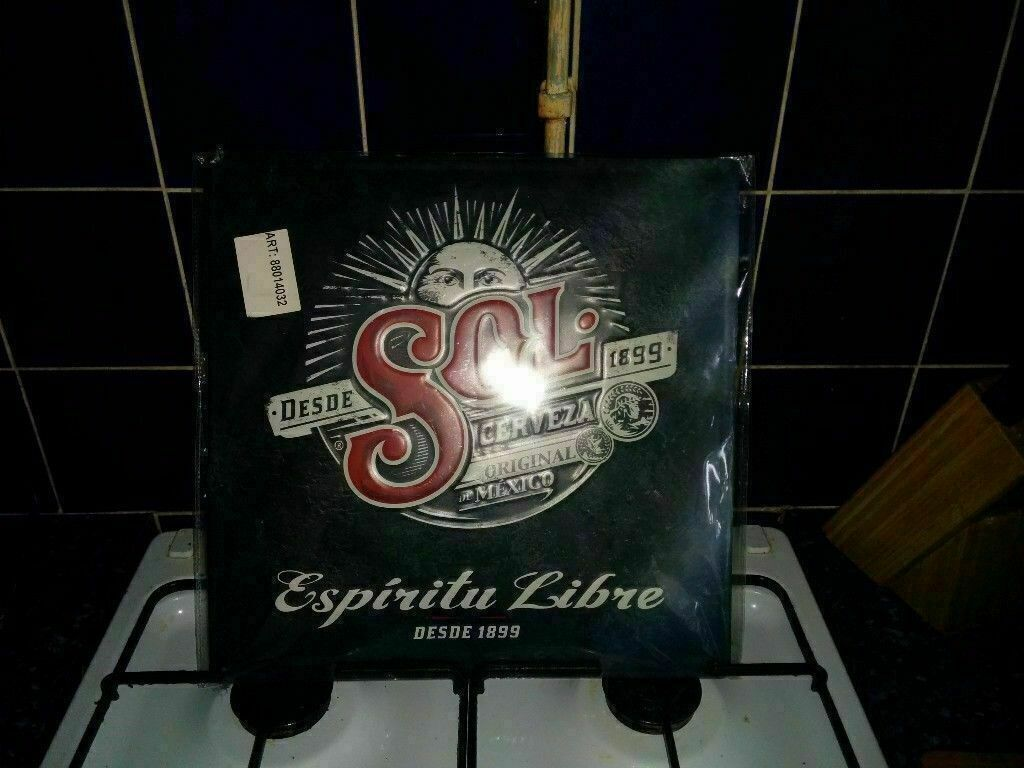 NEW SEALED SOL SIGN COLLECTORS ITEM OR MANCAVE/BBQ BAR AREA USE V RARE | in  Norwich, Norfolk | Gumtree