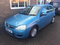 Breaking 2003 Vauxhall Corsa 1.0 blue