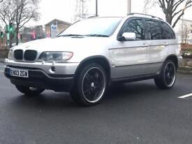 2003 BMW X5 SPORT 3.0 * AUTO *LEATHERS * PARKING SENSORS * ALLOYS * 12 MONTHS MOT *PX WELCOME