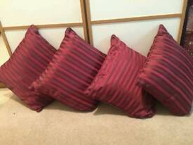 Cushions - all perfect condition.