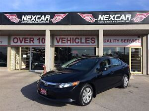 2012 Honda Civic LX AUT0 A/C CRUISE ONLY 57K