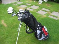 DUNLOP MAX LADIES GOLF CLUBS IN BAG WITH STAND