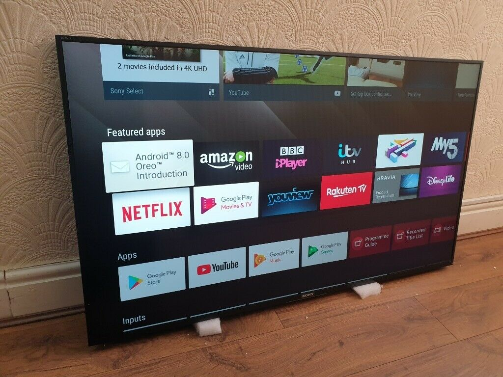 SONY BRAVIA KD55XF8096BU 55-inch Smart 4K Ultra HD HDR LED ANDROID  TV,BUILT-IN WIFI | in Salford, Manchester | Gumtree