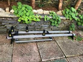 Vanguard roof bars and pipe carriers