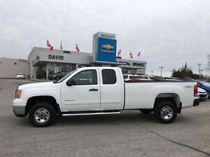 2010 GMC SIERRA 2500HD SLE EXT 4WD LONGBOX, LOCAL TRADE!!