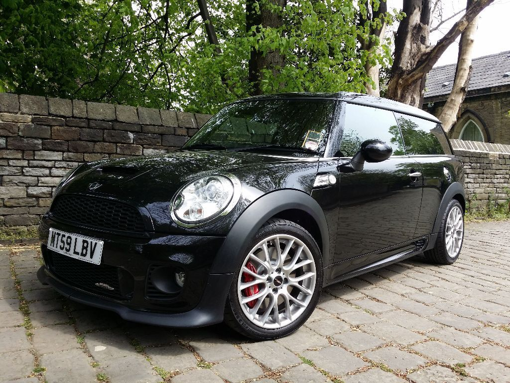 mini clubman jcw 2010 reduced excellent spec and. Black Bedroom Furniture Sets. Home Design Ideas
