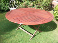 Table & Chairs (Tropical Hardwood) - GARDEN - PATIO