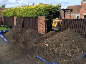 Good quality top soil 20 ton FREE