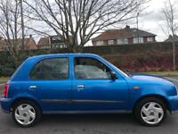 Nissan Micra 1.4 16v SE 5dr + Tested till enfd of year + cheap to tax and insure+ yaris saxo corsa