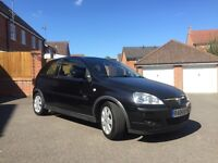Vauxhall Corsa SXI 1.2 Black with MOT