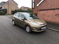 2012 Ford Fiesta 1.6 TDCI Zetec Econetic Door Hatchback Diesel Brown Mot till July 2021 £0 Road Tax!