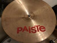 "PAISTE 2002 17"" & 18"" CRASHE CYMBALS, USED AND GIGGED, BUT GREAT CONDITION"