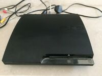 PS3 Slim Console, with wireless controller & 20 games