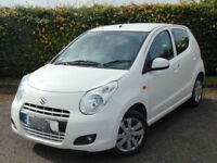 AUTOMATIC SUZUKI ALTO 2014 PLATE 5 DOOR WHITE.ONLY 2130 MILES. 1 LITER ENGINE.1 OWNER.CHEAPEST IN UK