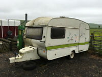 4 Berth Abbey Cosalt Caravan suitable as garden shed or storage
