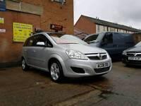 2008 Vauxhall Zafira Exclusiv 1.6cc - 7 Seater - 6 Months Warranty