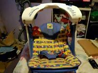 Fisher Price deluxe take-along swing