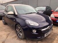 Vauxhall Adam 1.2 i VVT 16v JAM 3dr£4,485 p/x welcome 1 YEAR FREE WARRANTY CAT N
