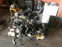 VW golf mk5 1.9tdi pd105 engine and gearbox and turbo and driveshafts (full running gear) DIESEL
