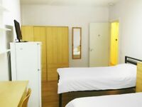 Single and twin rooms for students in Shepherd's Bush