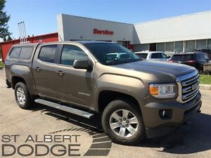 2015 GMC Canyon SLE | 4X4 | BACK CAM | BOX CANOPY | LOW KMS
