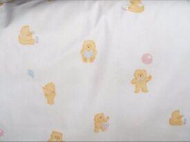 Teddy Bear Curtains 54 inch wide X 56 inch drop