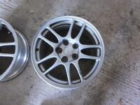 Mitsubishi Evo 9 IX alloys wheels genuine set of 4